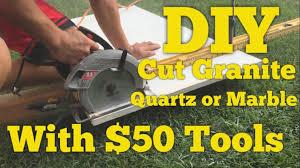 home exterior interior ont 50 diy how to cut quartz granite or marble counter