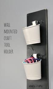wall mounted craft tool holder