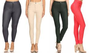 Up To 61 Off On Jvini Womens Jeggings 3 Pack Groupon Goods