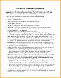 How To Write A Formal Lab Report For Chemistry Template Lab Report Template Chemistry Formal Unique 7 Writing