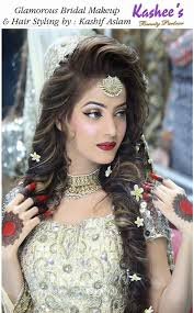 glamorous bridal makeup and hair styling done by kashif aslam stunning gowns indian bridal bridal and stani bridal makeup