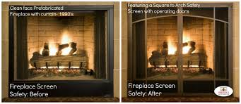 Unique fireplace screens Ideas Safety Features Of Fireplace Screen Hadley Court Beautiful Fireplaces With Lovely Screens Hadley Court Design Blog