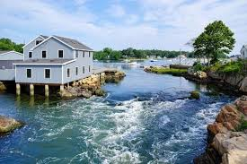 Scituate Tide Chart 2018 Cohasset Ma Gulph River Rapids South Shore Boston Coastal Cottage Decor Scituate Beach House Decor Ocean Archival Print Signed