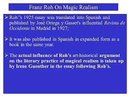 tzvetan todorov on the fantastic ppt  franz roh on magic realism