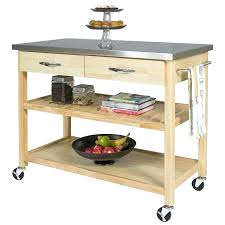 stainless steel kitchen work table large size of decorating wooden kitchen trolley on wheels kitchen work