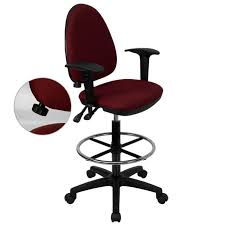 modern drafting chair. Arm Chair Drafting Stool Adjustable Arms Drawing Board Modern High Back Large Size Of Chairdrafting Office Chairs Doctor Offi