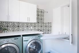laundry room ironing cabinet in wall