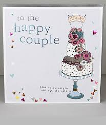 To The Happy Couple Wedding Cards