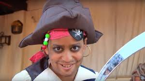 pirates of the caribbean inspired makeup tutorial for boys