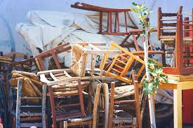 old wooden chair.  Chair Furniture Retro Old Wooden Chairs Stacked Street On Old Wooden Chair A