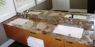 bathroom vanity granite backsplash. Paradiso (Marble) Vanity And Backsplash With Undermount Sinks. Reverse 45° Edge. Bathroom Granite R