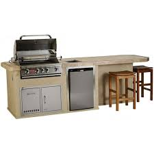 Bull Outdoor Products CulinaryQ Island With Burner Angus Gas - Bull outdoor kitchen