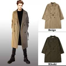 double trench coat choice 2 color mens coat long coat business court winter coat autahmens spring fall fall clothes winter winter men s gentleman spring