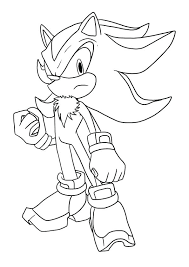 super sonic and super shadow coloring pages shadow sonic coloring pages best the hedgehog supersonic and