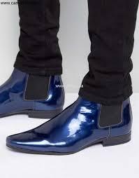 asos chelsea boots patent asos boots blue mens artful chelsea lortvwyz08