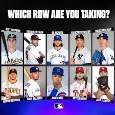 Program within @mayoclinicgradschool is currently accepting applications! Which Row Are You Taking Via Mlb Instagram Baseball