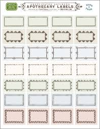 Ornate Apothecary Blank Labels By Cathe Holden Worldlabel Blog