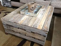 Rectangle  Reclaimed Wood Pallet Coffee Table Ideas 1001 Pallet Coffee Table Diy Instructions