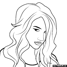 Small Picture Hip Hop Rap Star Online Coloring Pages Page 1