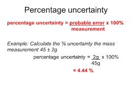 percent uncertainty equation jennarocca