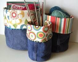 Resultado de imagem para Conheça 25 maneiras de reaproveitar calças jeans velhas