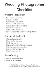Wedding Photography Checklist Template Wedding Planning Checklist Filename Event For Weddings
