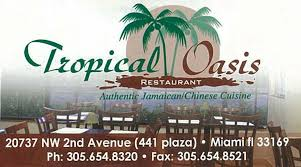 tropical oasis jamaican and chinese restaurant restaurants in miami gardens florida 33169