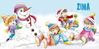 Znalezione obrazy dla zapytania zabawy zimowe w przedszkolu