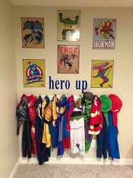 Superhero Coat Rack Super Hero Wall Ideas for Kids Crafty Morning 5