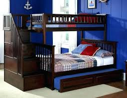 trundle bunk bed cascade loft bunk bed with trundle desk chest and closet