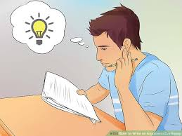 how to write an argumentative essay pictures wikihow image titled write an argumentative essay step 1