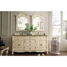 antique white furniture. James Martin Furniture Classico Antique White Double Granite Vanity Set And