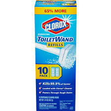 Disposable Toilet Clorox Toiletwand Disposable Toilet Cleaning Refill 10 Count