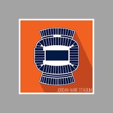 Amazon Com Auburn Jordan Hare Stadium College Football