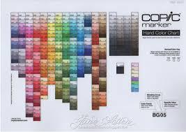 Copic Marker Europe Copic Colour Chart Health Check