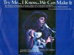 donna summer try me i know we can make it sheet