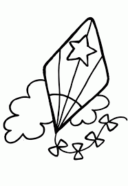 Small Picture Printable kite coloring pages for kids ColoringStar