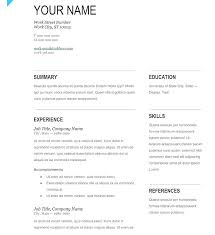Resume Template Publisher Office Resume Templates For Mac Office ...