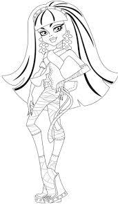 Printable Monster High Cleo De Nile