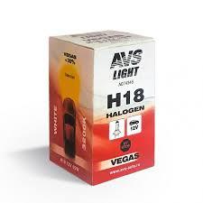 Галогенная <b>лампа AVS Vegas</b> H18.12V.65W (1 шт.) оптом от ...
