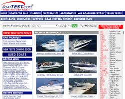 in 2006 boattest s home page was a three ring circus of news reviews s and just about everything else in boating everyone on the internet was