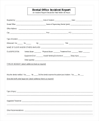 Sample Fire Incident Report Cover Letter Example Of Incident Report