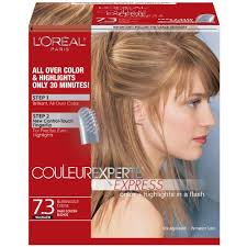 Loreal Hair Color Chart Prices Loreal Paris Couleur Experte 7 3 Dark Golden Blonde