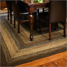 country square braided rugs