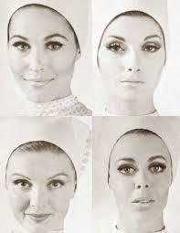 1960s makeup looks four faces