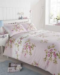 shabby chic super king bedding fl modern quilt duvet cover pillowcase bedding bed sets