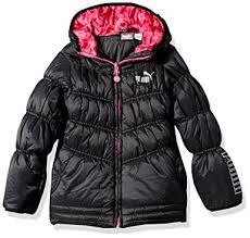 Amazon.com: PUMA Girls' Quilted Puffer Jacket: Clothing & PUMA Big Girls' Quilted Puffer Jacket, Black, ... Adamdwight.com