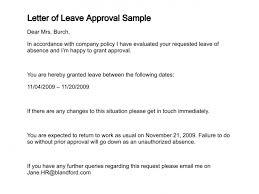 Sample Letter Of Authorization Impressive Letter Of Leave