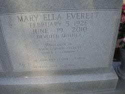 Mary Ella Everett Benson (1926-2010) - Find A Grave Memorial