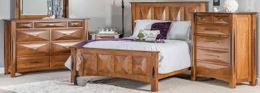 raised pinnacle amish bedroom